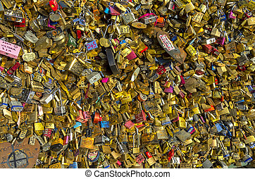 Too many locks of love - Too many locks of love on the...