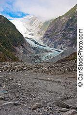 Franz Josef Glacier in Westland National Park of New...