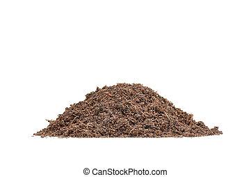 Pile of fertile soil
