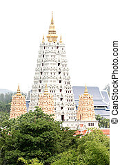 Ancient pagodas in Thailand - Ancient pagodas in Thailand of...