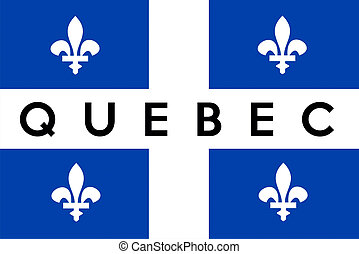 Quebec flag Stock Illustrations. 377 Quebec flag clip art images and ...