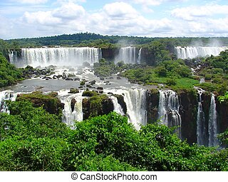 Falls - Iguazu waterfalls