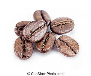 café, feijões