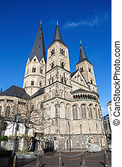 Bonn - The Bonn Minster, or, in German, the Bonner Münster,...