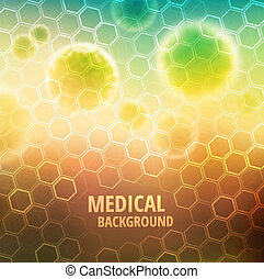 Medical background - Medical abstract background, eps 10