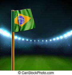 Start soccer match in Brazil, eps 10