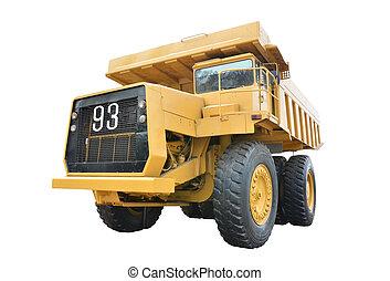 鉱山, トラック
