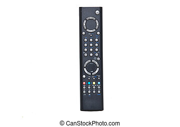tv remote control - Black tv remote control