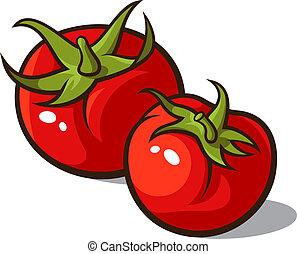 Illustration et clip art vecteur libre de droits de tomates 2 095 images clipart vecteur eps de - Tomate dessin ...