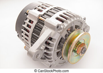 New automobile alternator - New automobile generator...
