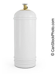 gas balloon isolated on a white background