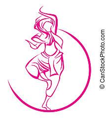 Dance India symbol