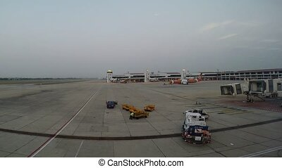 Nokair airline - BANGKOK, THAILAND - MARCH 2, 2014 : Nokair...