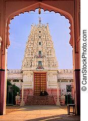 Hindu temple in Pushkar, India - Hindu temple in Pushkar,...