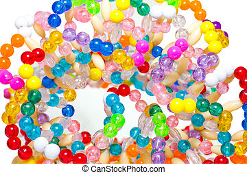 beads - Background from beads