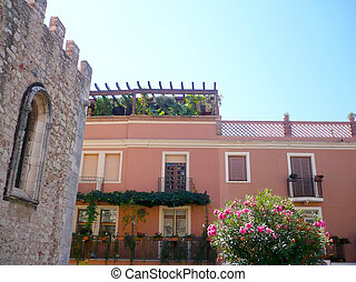 House in Taormina, Sicily