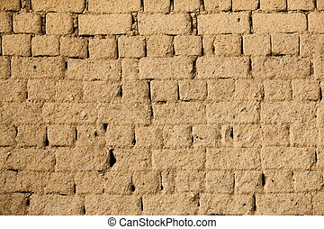 The clay wall for background - The clay wall for a...