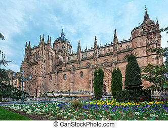 New cathedral Catedral Nueva in Salamanca, Spain