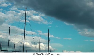 Ship Poles and the Sky