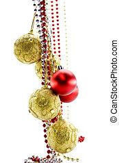 christmas-árvore, Decorações