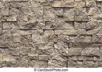Stones - nature materials for rooms - Multi-color slate wall...