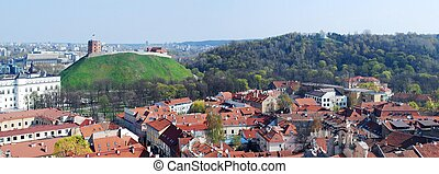 The Hill of Three Crosses in Vilnius, Lithuania