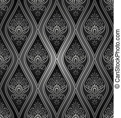 Royal damask seamless wallpaper