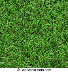 Green Grass Seamless Pattern - Green grass texture that...