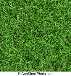 Green Grass Seamless Pattern - Green grass texture that...