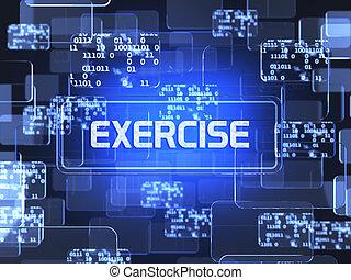 Exercise screen concept