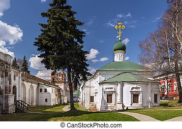 Novodevichy Convent, Moscow, Russia - Church of St. Ambrose...