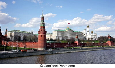Moscow Kremlin in a summer sunny day, Russia