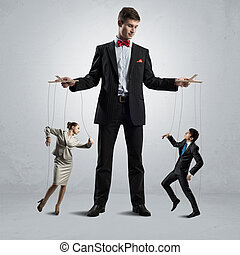 puppeteer and puppet business - puppeteer keeps business...