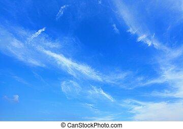 nubes, cielo