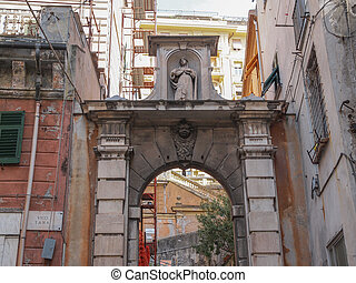 Genoa old town