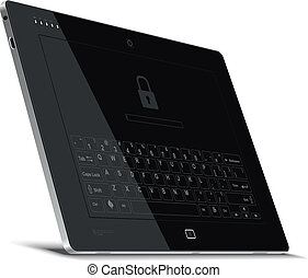 Vector Tablet Left Side View