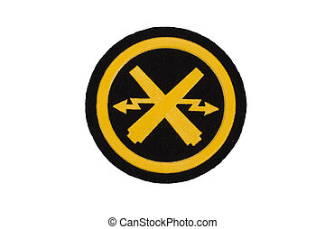 army badge isolated