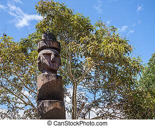 Old tribal totem