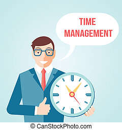 Time management poster - Time management for effective...