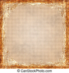Orange grunge background. Old abstract vintage texture with...