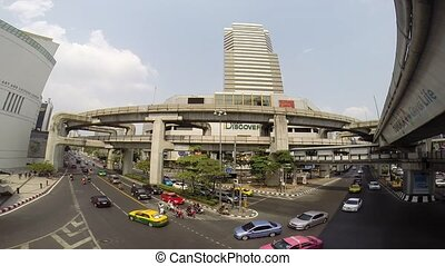 National Stadium BTS station - BANGKOK,THAILAND - MARCH 15:...