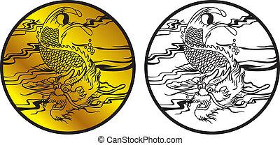 dragon fish symbol