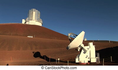 Telescope Observatory - An observation station high atop...