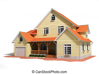 3d house