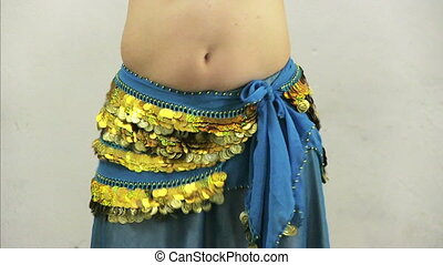 Belly Dance - Girl dances east dance