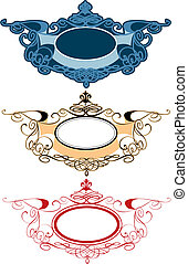 Decorative Ornament Labels