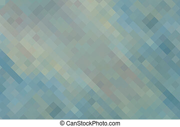 Blue green yellow  vintage geometric background