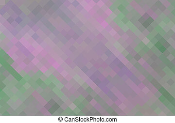 Pink green  vintage geometric background