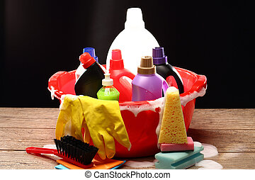 Household chemicals - Household chemical goods for cleaning...