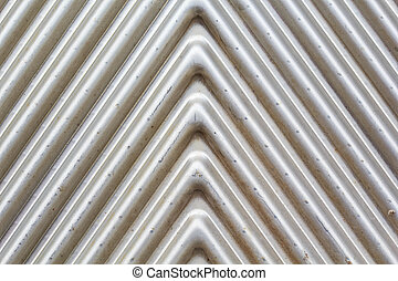 Stainless steel plate silver pattern background